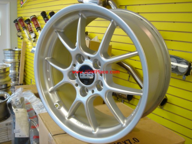 RI23004 - BBS RK 17x8 +35 offset 5x120 bolt pattern in silver colour, fits E36/46 BMW 3 series.