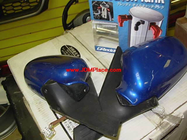 BD27005 - JDM GDB Impreza power folding mirrors with switch, fits all 02-07 Impreza models including sedan and wagon.