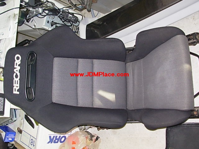 SE28005 - JDM Recaro SRD reclinable racing seat with sliders.