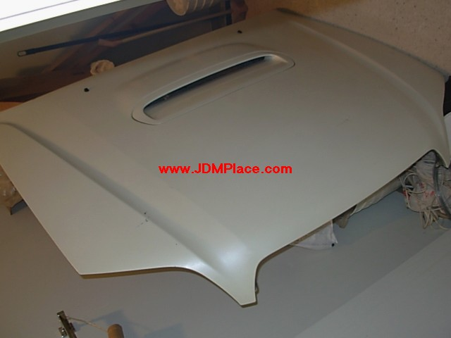 BD30011 - Rare JDM B4 Legacy E Tune edition aluminum hood with scoop for 00-04 Legacy sedan or wagon. Perfect for swapped cars.