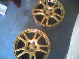 RI100011 - JDM GDB Impreza STI Version 7 gold 17