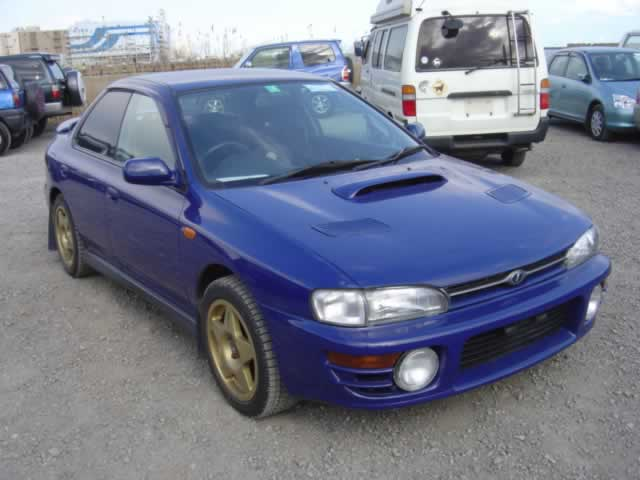 BD4001 - Subaru Impreza JDM STI Version 4 front bumper with fog lights and signals. special request-RESERVED!